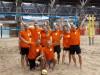 Winst tijdens jaarlijks beachvolleybaltoernooi